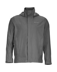 Marmot Gray Precip Jacket for men