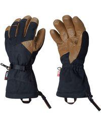 Mountain Hardwear Blue Jalapeno Glove for men
