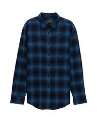 Pendleton - Blue Lister Classic Shirt for Men - Lyst