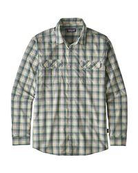 Patagonia Gray High Moss Long-sleeve Shirt for men