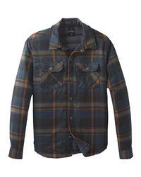 Prana Blue Showdown Jacket for men