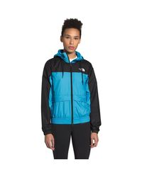 The North Face Blue Hmlyn Wind Shell Jacket