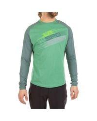 La Sportiva Green Stripe Evo Long-sleeve Shirt for men
