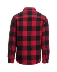 The North Face Red Campground Sherpa Shirt Jacket for men