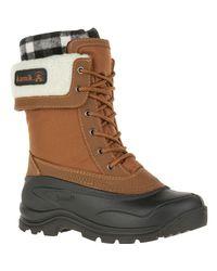 Kamik Brown Sugarloaf Boot