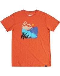 United By Blue Orange Mountain Ink T-shirt for men