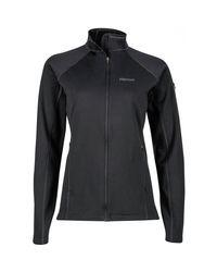 Marmot Black Stretch Fleece Jacket