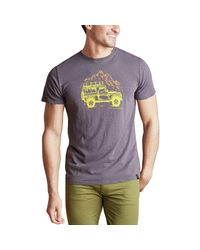 United By Blue Gray Adventure Mobile T-shirt for men