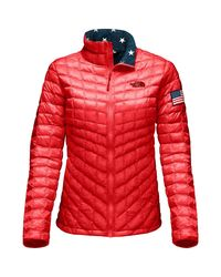The North Face Red International Collection Thermoball Jacket