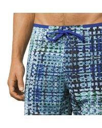 Prana Blue Catalyst Board Short for men
