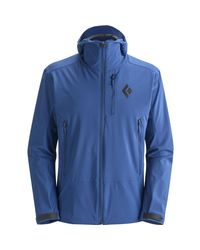 Black Diamond - Blue Dawn Patrol Softshell Jacket for Men - Lyst