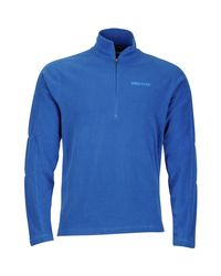 Marmot Blue Rocklin 1/2-zip Fleece Jacket for men