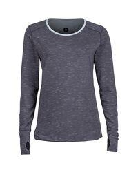 Marmot Gray Hannah Reversible Shirt - Long-sleeve
