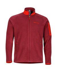 Marmot Red Reactor Fleece Jacket for men