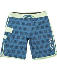 RVCA Blue Eastern 20in Swim Trunk for men