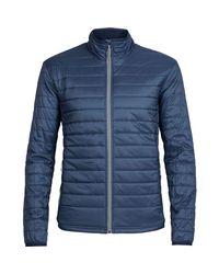 Icebreaker Blue Stratus Merinoloft Jacket for men