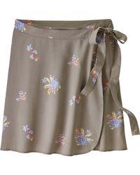 Patagonia Gray June Lake Skirt