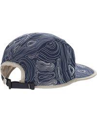Parks Project Blue Trail Topo Reversible Hat for men