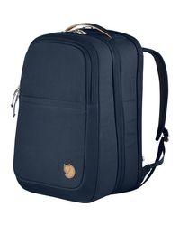 Fjallraven Blue Travel Pack