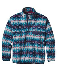 Patagonia Blue 'synchilla Snap-t' Pullover for men
