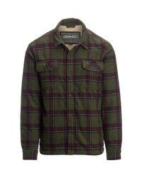 Gramicci Green Tough Guy Shirt Jacket for men