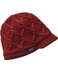 Patagonia | Red Vanilla Beanie | Lyst
