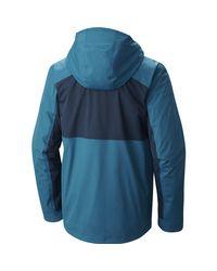Mountain Hardwear - Blue Binx Ridge Quadfecta 3-in-1 Jacket for Men - Lyst