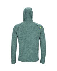 Marmot Green Sunrift Hoodie for men