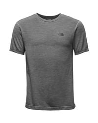 The North Face Gray Eng Wool Crew for men