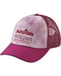 Patagonia - Purple Femme Fitz Roy Interstate Hat - Lyst