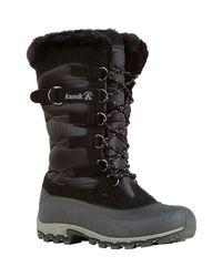 Kamik - Black Snowvalley Winter Boot - Lyst