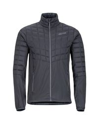 Marmot Gray Featherless Hybrid Insulated Jacket for men