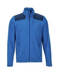 Marmot Blue Reactor Fleece Jacket for men