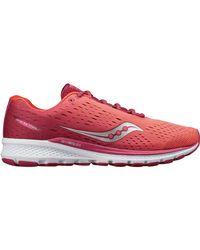 Saucony Red Breakthru 3 Running Shoe