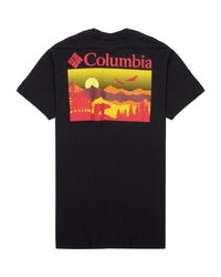 Columbia Black Expedition Short-sleeve Shirt for men