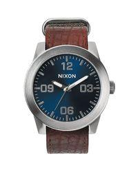Nixon - Multicolor Corporal Watch for Men - Lyst
