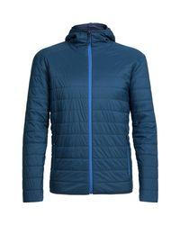 Icebreaker - Blue Hyperia Hooded Jacket for Men - Lyst