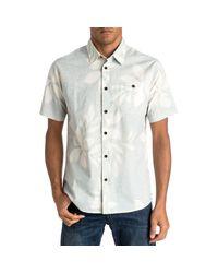 Quiksilver White Sunburst Shirt for men