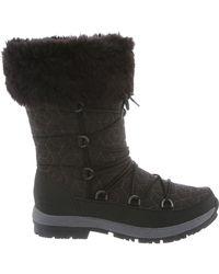 BEARPAW Black Leslie Boot