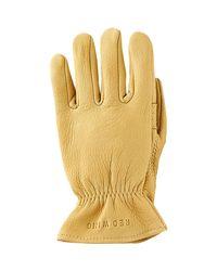 Red Wing - Yellow Unlined Buckskin Glove for Men - Lyst