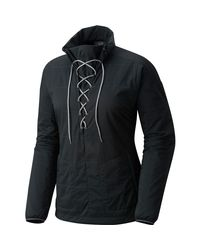 Mountain Hardwear Gray Escape Insulated Pullover Jacket
