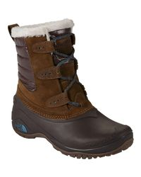 The North Face Brown Shellista Ii Shorty Boot