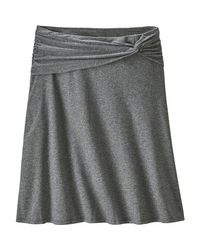 Patagonia Gray Seabrook Skirt