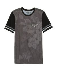Hurley Black Outfield Premium T-shirt for men