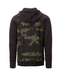 Hurley Multicolor Phantom Deploy Full-zip Fleece Hoodie for men