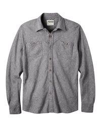 Mountain Khakis Multicolor Yak Herringbone Shirt for men