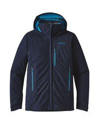 Patagonia Blue Piolet Jacket for men