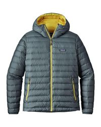 Patagonia Blue Down Sweater Hooded Jacket for men