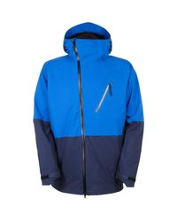 686 Blue Glcr Hydra Thermagraph Insulated Jacket for men