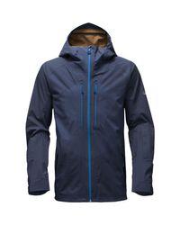 The North Face Blue Fuseform Brigandine 3l Jacket for men
